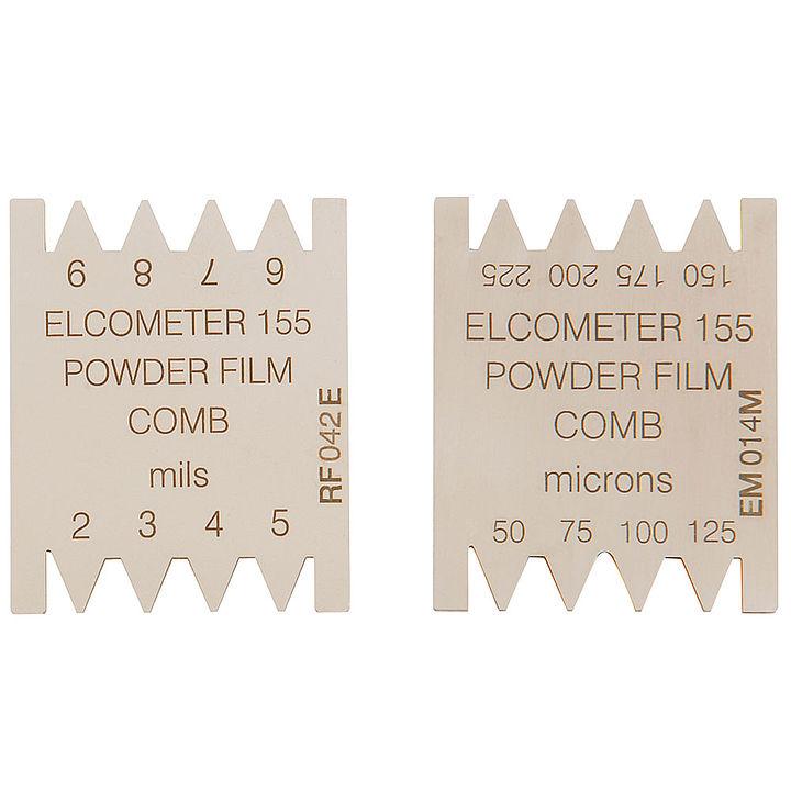 Hřeben pro nevypálené práškové barvy  Elcometer 155