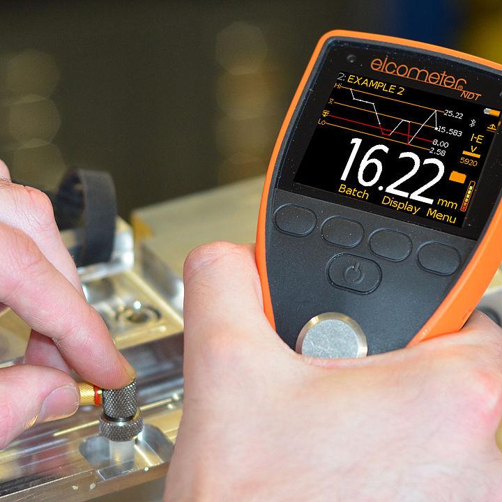 Ultrazvukový digitální tloušťkoměr Elcometer PTG 6